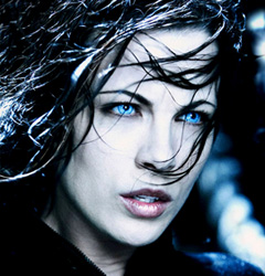 ColourVue Crazy Underworld Selene contacts in Underworld movie