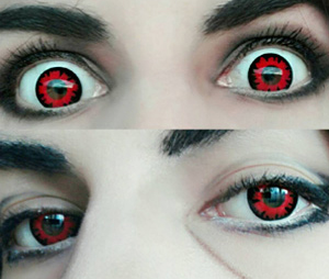ColourVue Crazy Volturi contact lenses