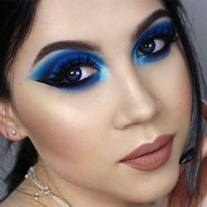 @ladystardust z soczewkami ColourVue Glamour Blue