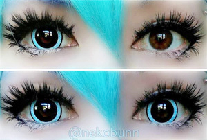 ColourVue Mini Sclera Nebulos contact lenses
