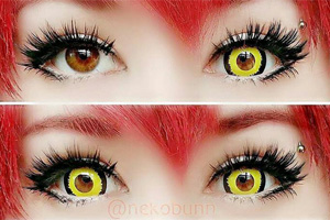 ColourVue Mini Sclera Tigera contact lenses