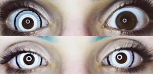 ColourVue Mini Sclera Venus contact lenses