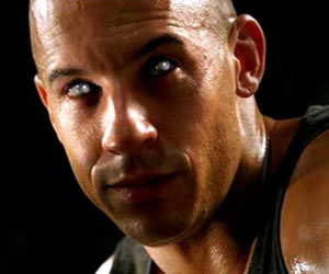 Mirror Contact Lenses - Riddick