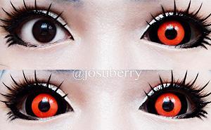 ColourVue Sclera Gremlin 22mm contact lenses