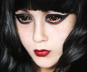 ColourVue Sclera Morbius 22mm contact lenses
