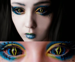 ColourVue Sclera Xorn 22mm contact lenses