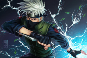 Kakashi contact lenses - Naruto