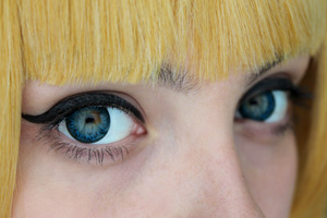 Neo Cosmo Dali&Circle N521 Blue Flames contact lenses