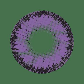 Soleko Queens Oros Mystery Violet contact lens