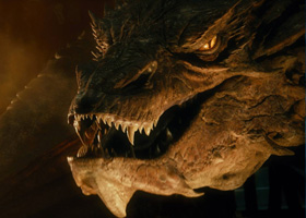 Smaug the dragon contact lenses