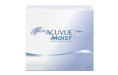 1 Day Acuvue Moist Contact lenses - 180 lenses