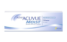 1 Day Acuvue Moist for Astigmatism contact lenses