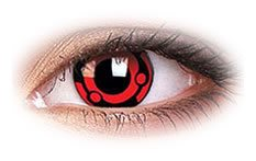 Madara | Novelty Contact Lenses