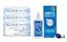 Acuvue Oasys Contact Lenses and Complete Revitalens 120ml