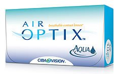 Air Optix Aqua Contact lenses - 6 lenses