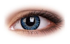 ColourVue 3 Tone Blue Contact Lenses