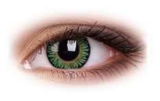3 Tone Green | Quarterly Contact Lenses