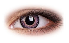 3 Tone Violet | ColourVue Contact Lenses