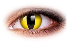 ColourVue Cat Eyes Contact Lenses