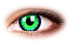 Green Werewolf | Vampire Contact Lenses