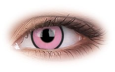 Hot Pink | Novelty Contact Lenses