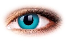 ColourVue Sky Blue Contact Lenses