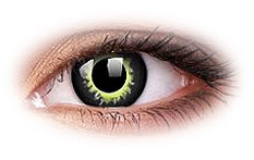 ColourVue Eclipse Werewolf Contact Lenses