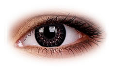 Eyelush Choco | Party Contact Lenses