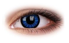 Glamour Blue | Natural Colour Contact Lenses
