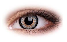 Glamour Grey | Natural Color Contact Lenses