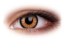 ColourVue Glamour Honey Contact Lenses