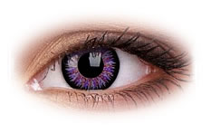 ColourVue Glamour Violet Contact Lenses