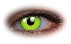 ColourVue Glow Green Contact Lenses