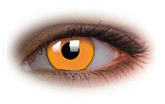 Glow Orange | Novelty Contact Lenses