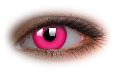 Glow Pink | Novelty Contact Lenses