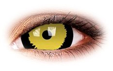 Tigera 17mm Mini Sclera | Yellow Contact Lenses
