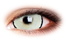 Venus 17mm Mini Sclera | White Contact Lenses