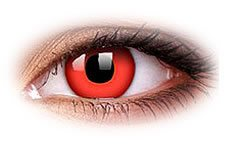 ColourVue Red Devil Coloured Contact Lenses