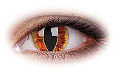 Saurons Eye | Yellow Contact Lenses
