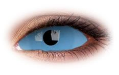 Athena Blue 22mm Sclera | Theatrical Contact Lenses