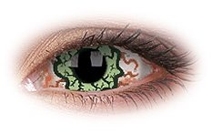 Kurse 22mm Sclera | Zombie Contact Lenses
