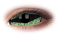 Reptilla 22mm Sclera | Green Contact Lenses
