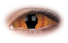 Shadowcat 22mm Sclera | Yellow Contact Lenses