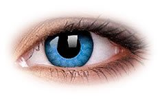 ColourVue Solar Blue Contact Lenses