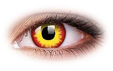 Wild Fire | Yellow Contact Lenses