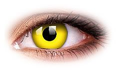 ColourVue Yellow Coloured Contact Lenses