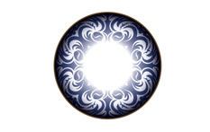 Niebieskie soczewki Neo Cosmo Dali&Circle N501