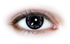 Soczewki Kontaktowe Neo Cosmo Niebieskie Floresy (N501)