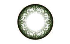 Neo Cosmo Dali&Circle N502 Green contact lenses