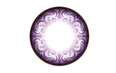 Neo Cosmo Dali&Circle N503 Violet contact lenses